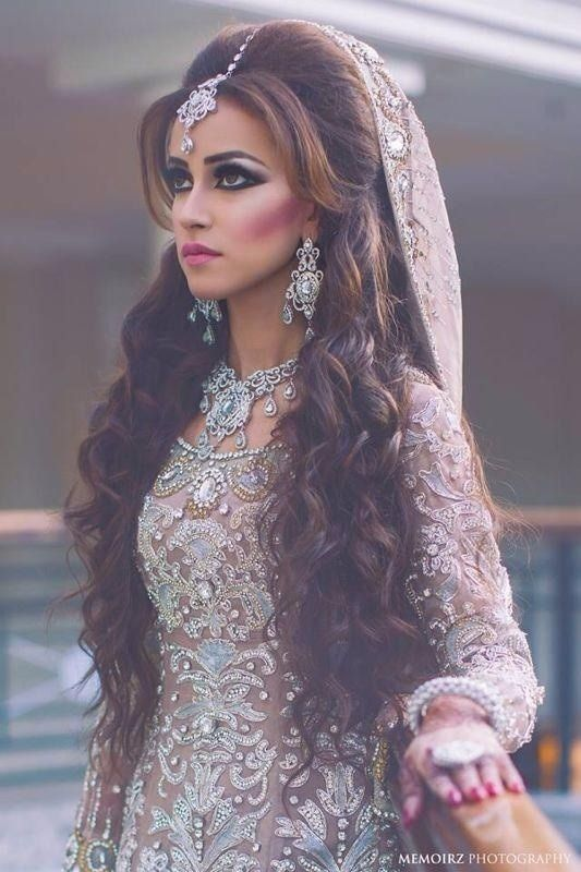 Indian Wedding Hairstyle Trends 2016-2017 for Bridals (12)
