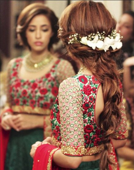 Indian Wedding Hairstyle Trends 2016-2017 for Bridals (24)