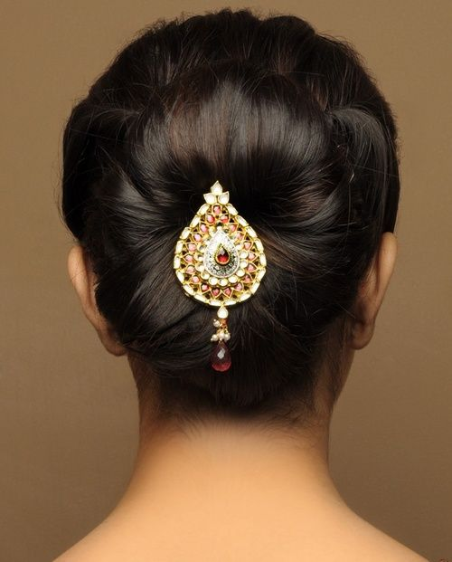 Indian Wedding Hairstyle Trends 2016-2017 for Bridals (28)