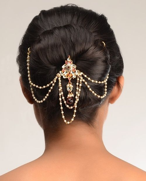27 Gorgeous Wedding Hairstyles For Long Hair For 2020: Indian Wedding Hairstyles Fashion Trends 2020 For Bridals