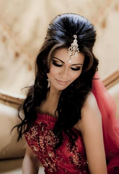 Indian Wedding Hairstyle Trends 2016-2017 for Bridals (6)