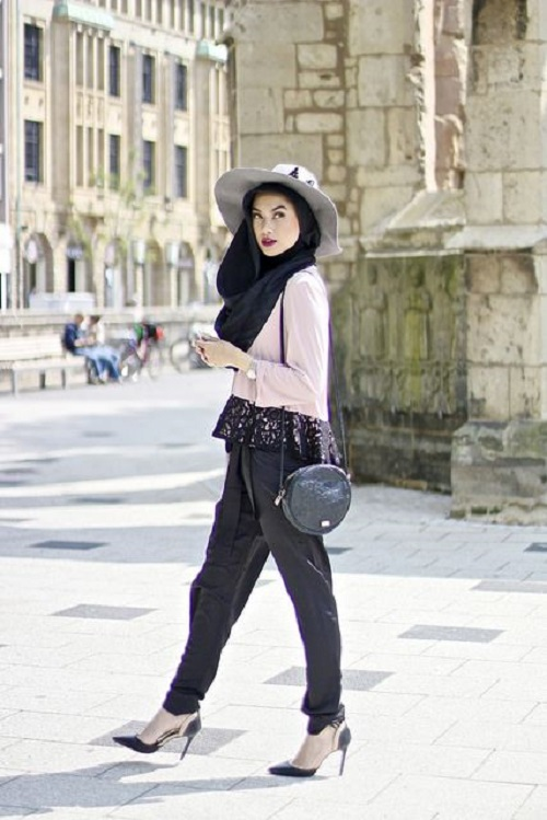 Latest Trends of Casual Wear Hijab Styles with Jeans 2016-2017 (24)