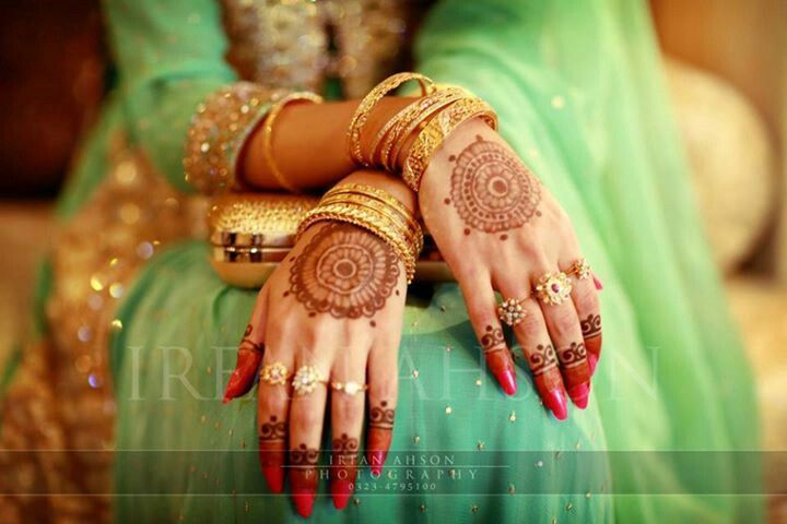 Bridal Mehndi Designs Collection 2016-2017 for Wedding Brides (8)