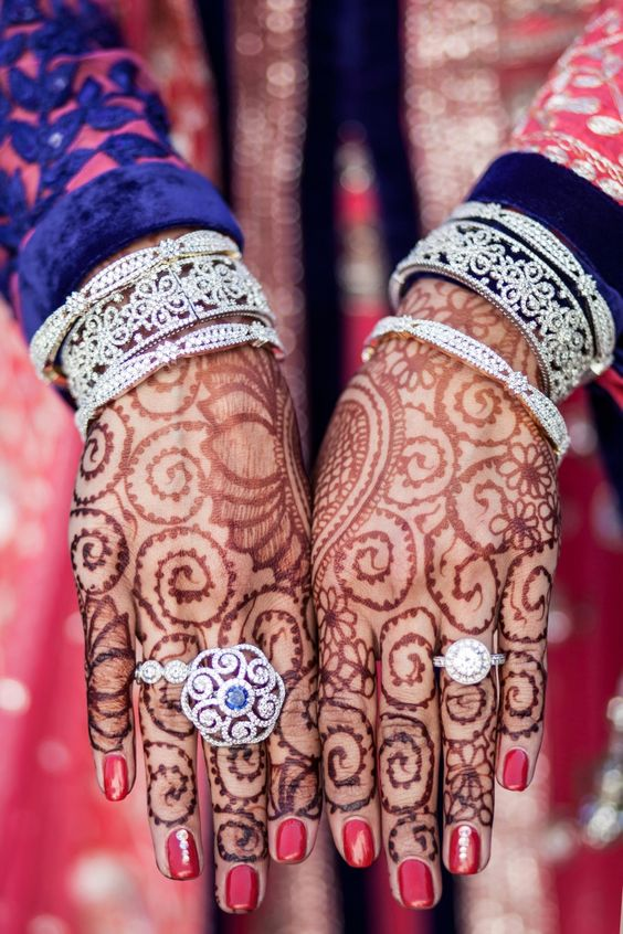 Latest Bridal Mehandi Designs Trends for Weddings (11)