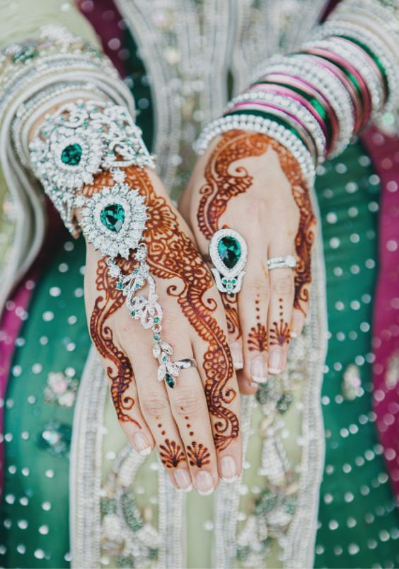 Latest Bridal Mehandi Designs Trends for Weddings (6)