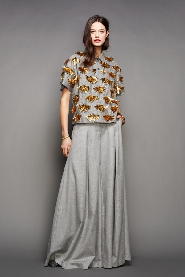 Latest Trends of Skirt Maxi Dresses Collection 2015-2016 (10)