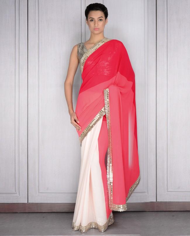 Mahish Malhotra Designer Saree Trends & Designs Collection 2016-2017 (11)