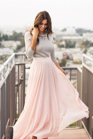 Trend of Skirt maxi Dresses (1)