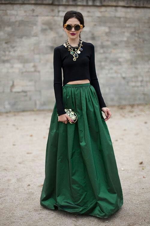 Trend of Skirt maxi Dresses (6)