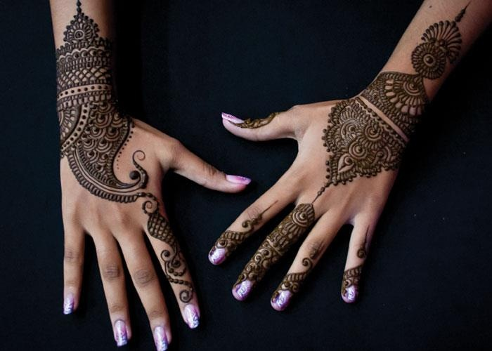 Wedding mehndi designs for bridals 2016-2017 (1)