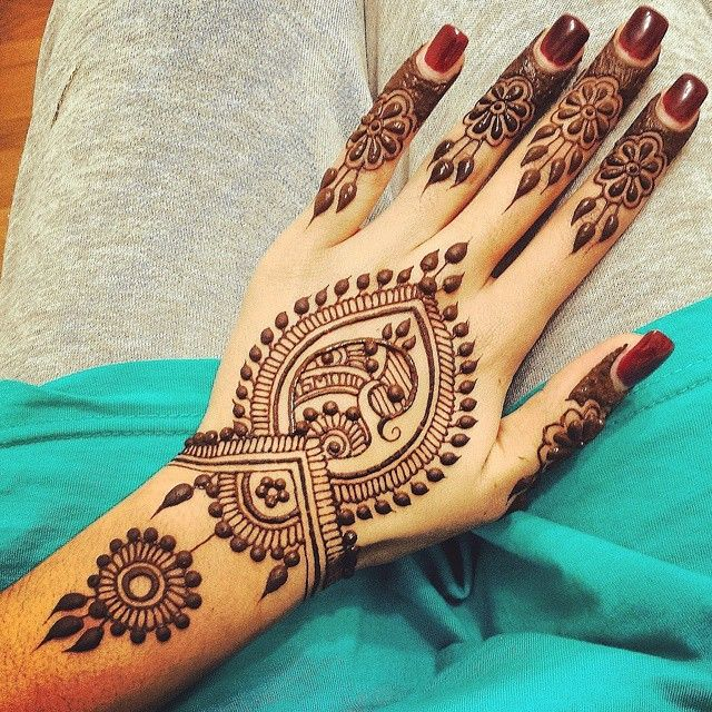 Wedding mehndi designs for bridals 2016-2017 (3)