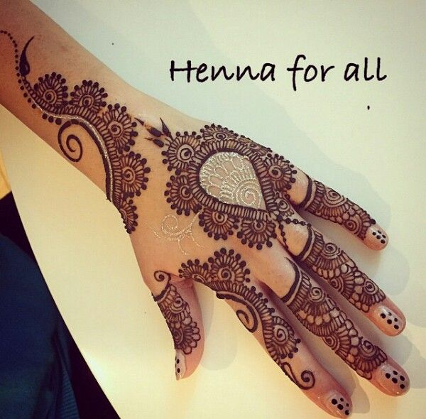 Wedding mehndi designs for bridals 2016-2017 (6)
