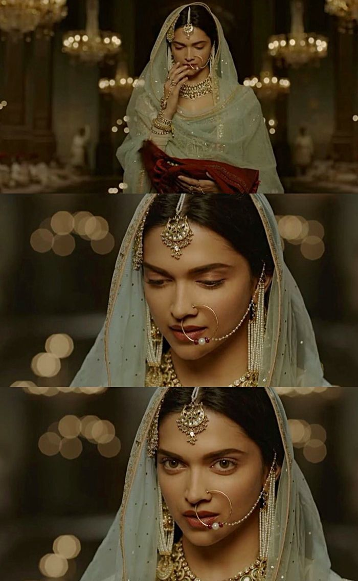 Deepika as Mastani in Anju Modi's Dresses Bajirao Mastani Collection (5)