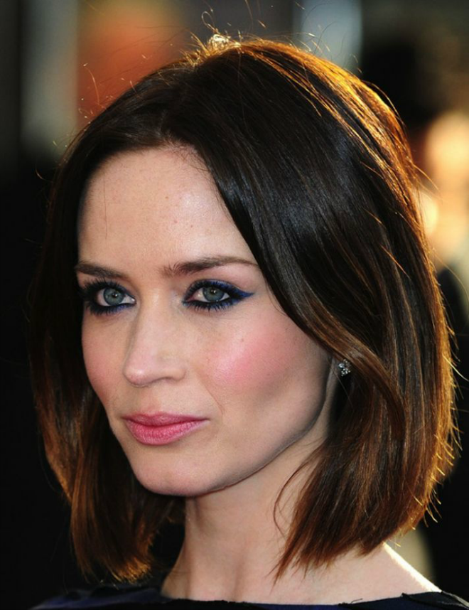 Emily-Blunt-Medium-Length-Hair