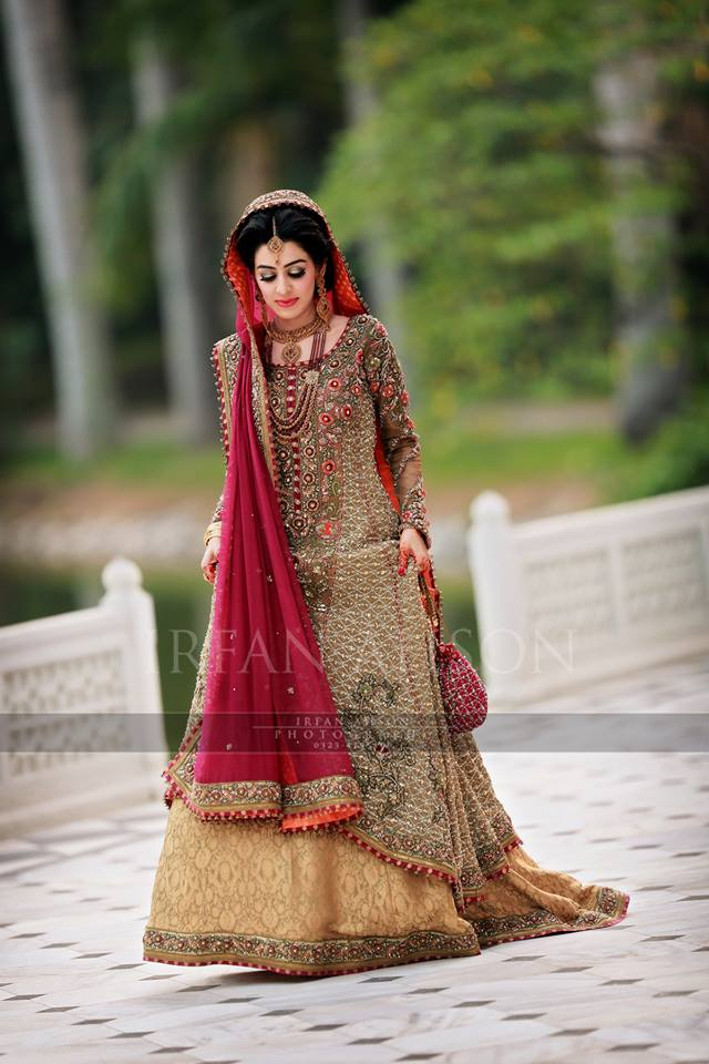 Barat Day Wedding Dresses Designs Collection 2016-2017 (2)