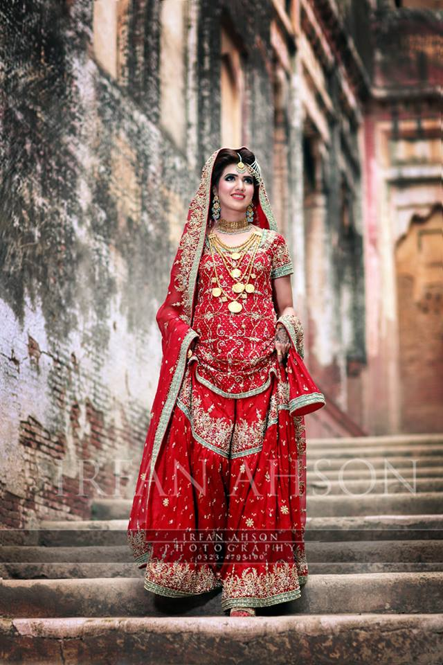 Barat Day Wedding Dresses Designs Collection 2016-2017 (9)