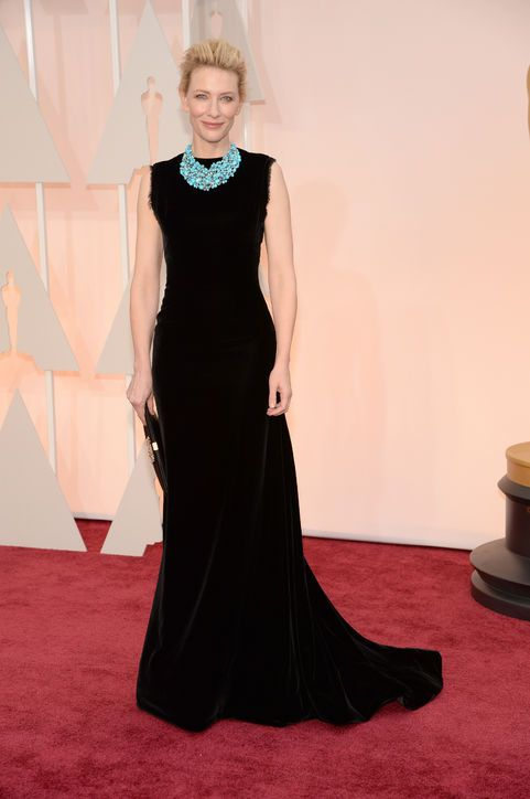 Cate Blanchett in a Maison Margiela Couture dress and Tiffany Blue Book Collection jewelry2