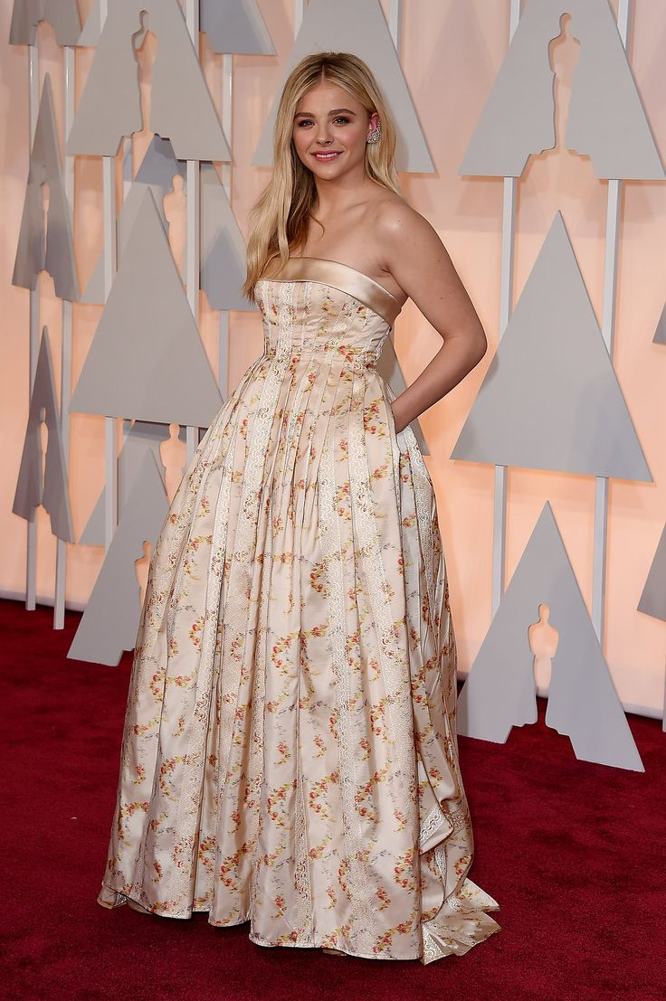 Chloë Grace Moretz in Miu Miu and Forevermark Diamonds jewelry