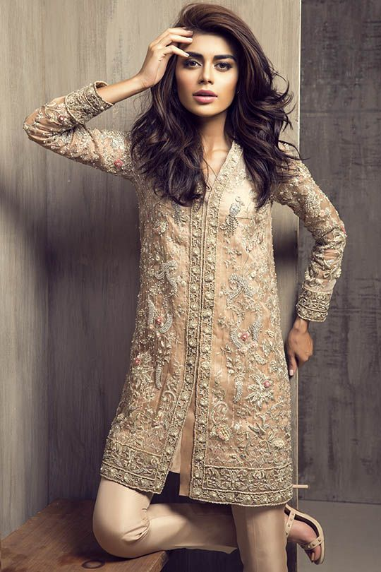 Party Wear Embroidered Dresses Designs Collection 2016-2017 (16)