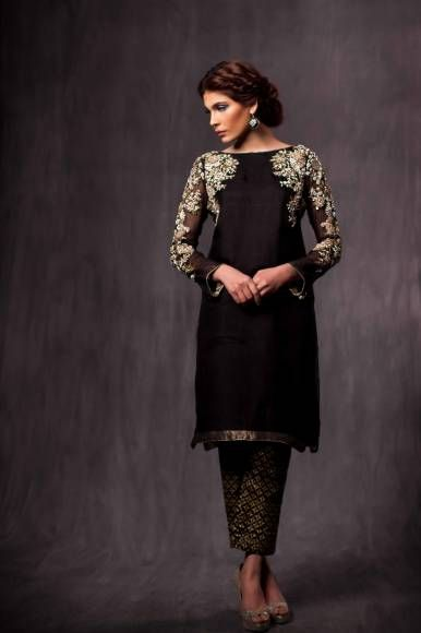 Party Wear Embroidered Dresses Designs Collection 2016-2017 (5)