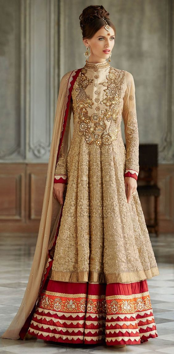 Fancy Indian & Asian Anarkali Umbrella Frocks (7)