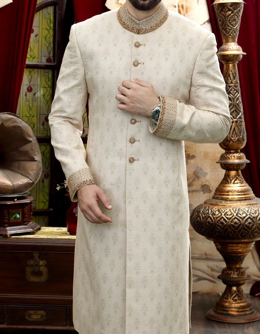 J Couture Latest Men Sherwanis Wedding Dresses Collection