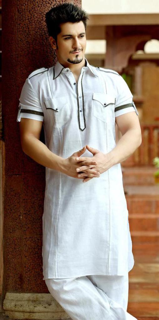 Men Summer Kurta Trends & Designs (13)
