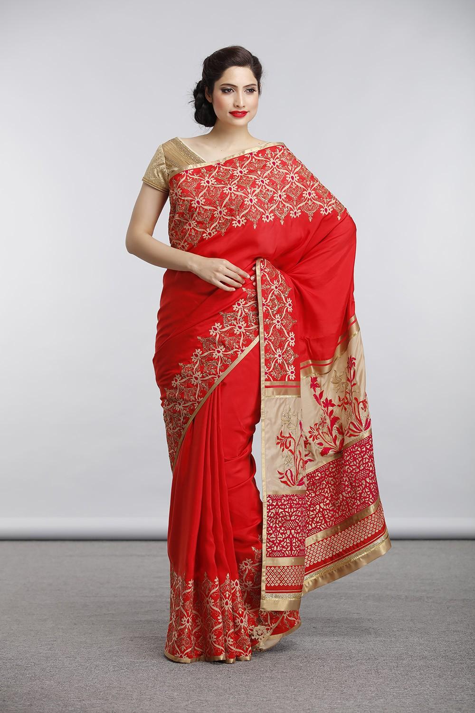 Satya Paul Indian Designer Sarees (1)