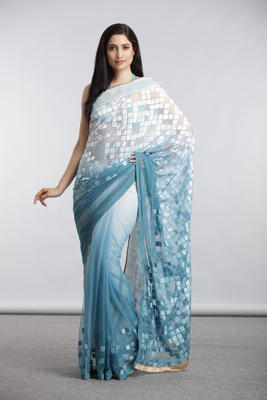 Satya Paul Indian Designer Sarees (3)