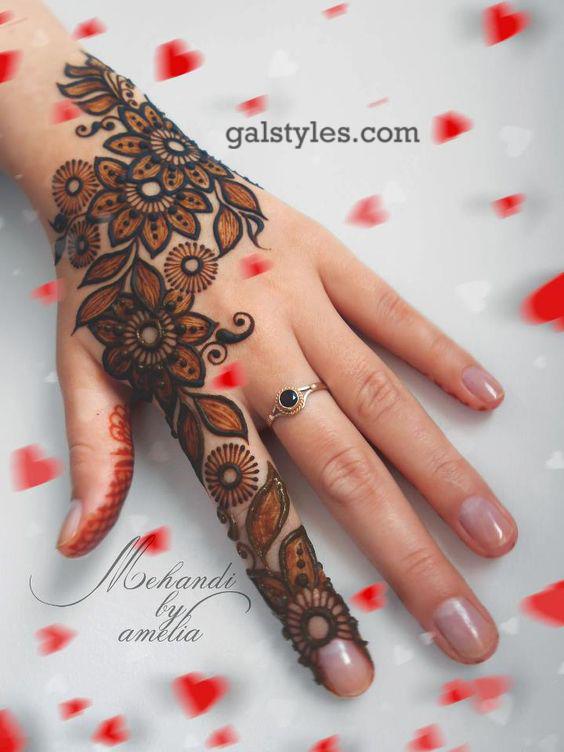Simple & Best Eid Mehndi Designs for Girls 2016-2017 (32)