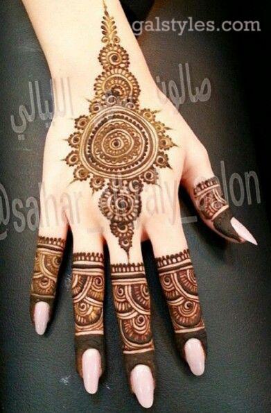 Simple & Best Eid Mehndi Designs for Girls 2016-2017 (33)