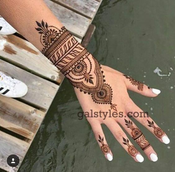 Simple & Best Eid Mehndi Designs for Girls 2016-2017 (35)