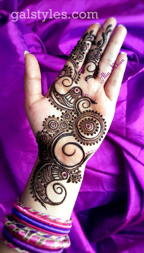 Simple & Best Eid Mehndi Designs for Girls 2016-2017 (41)