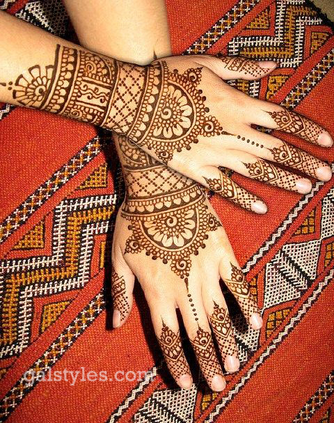 Simple & Best Eid Mehndi Designs for Girls 2016-2017 (42)