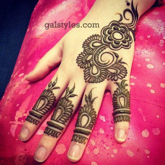 Simple & Best Eid Mehndi Designs for Girls 2016-2017 (45)