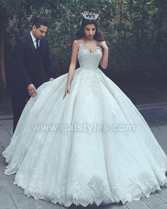 Latest Western Wedding Dresses Bridal Gowns (10)