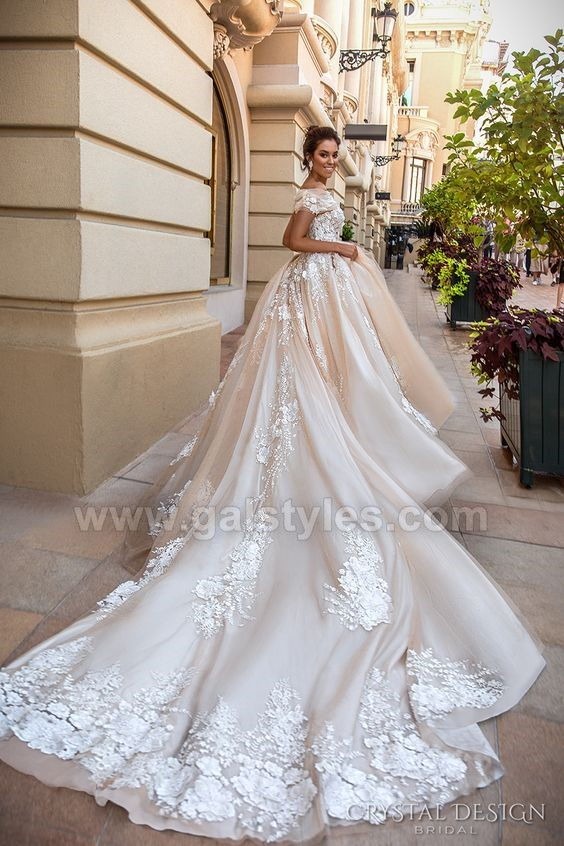 Latest Western Wedding Dresses Bridal Gowns (12)