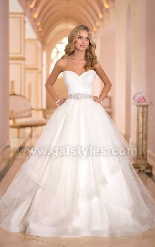 Latest Western Wedding Dresses Bridal Gowns (13)