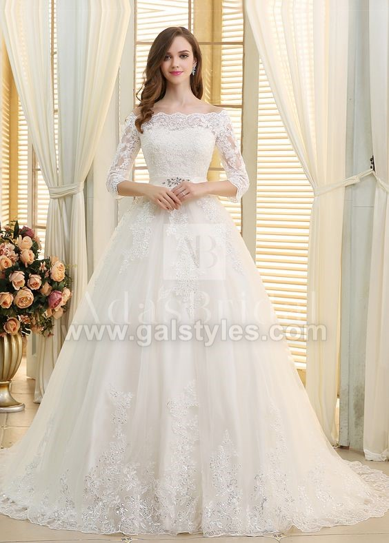 Latest Western Wedding Dresses Bridal Gowns (6)