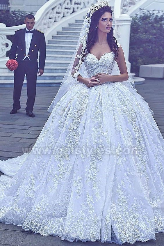 Latest Western Wedding Dresses Bridal Gowns (7)