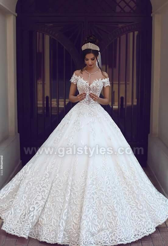 Latest Western Wedding Dresses Bridal Gowns (8)