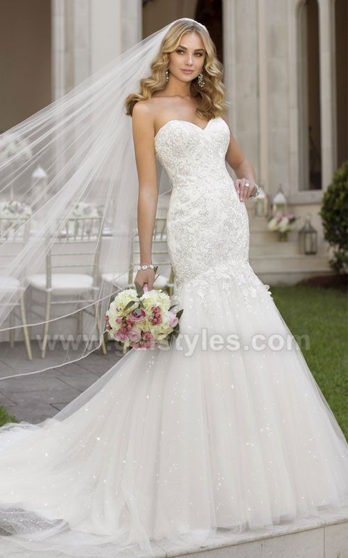 Latest Western Wedding Dresses Bridal Gowns (9)