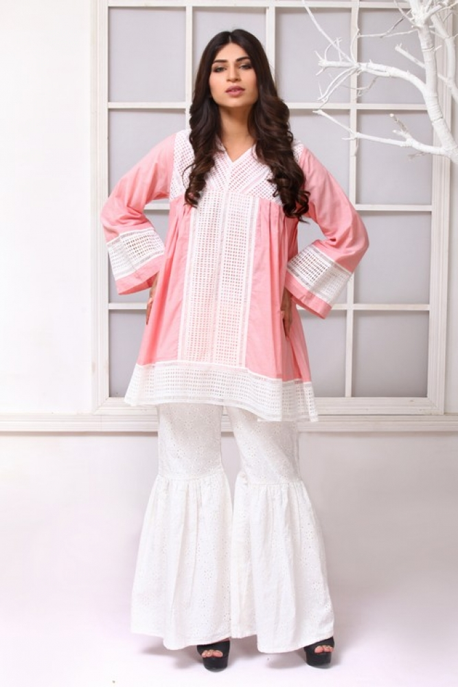Latest Women Kurta Styles Designs 2018-19 by Change Kurta Collection (1)