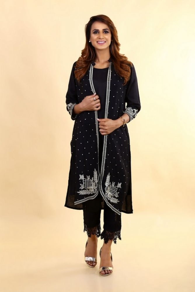Latest Women Kurta Styles Designs 2018-19 by Change Kurta Collection (10)
