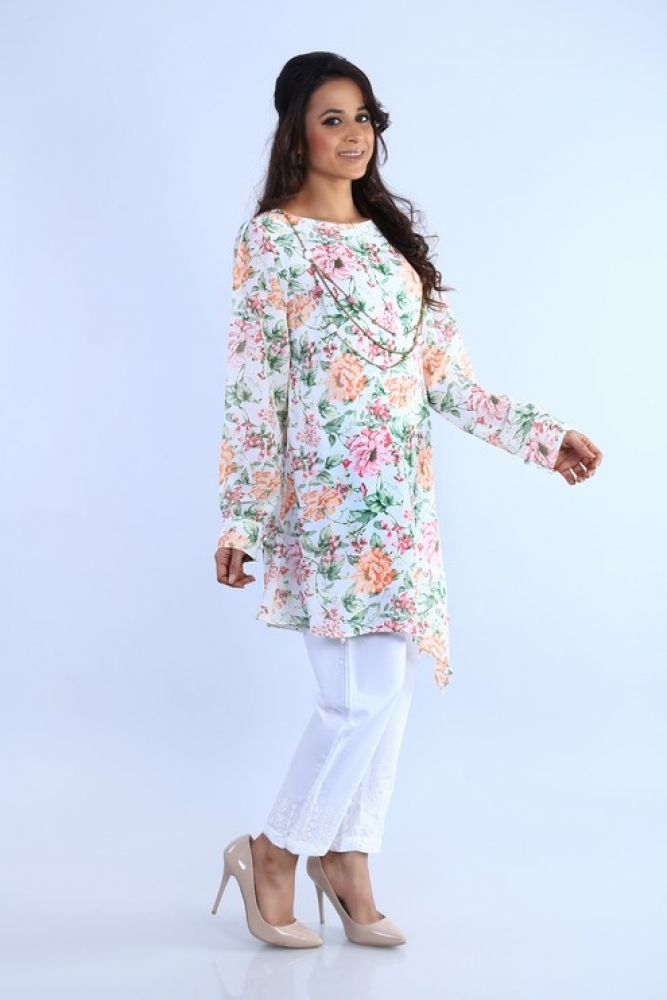 73f952a001a3 ... Latest Women Kurta Styles Designs 2018-19 by Change Kurta Collection  (24) ...