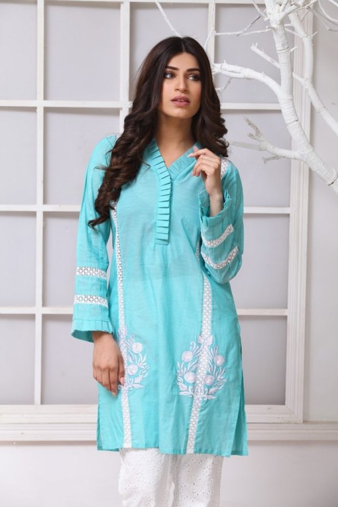 Latest Women Kurta Styles Designs 2018-19 by Change Kurta Collection (27)