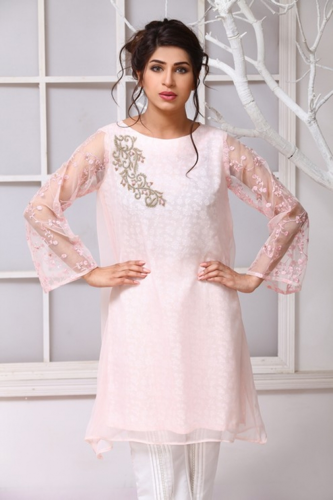 Latest Women Kurta Styles Designs 2018-19 by Change Kurta Collection (28)
