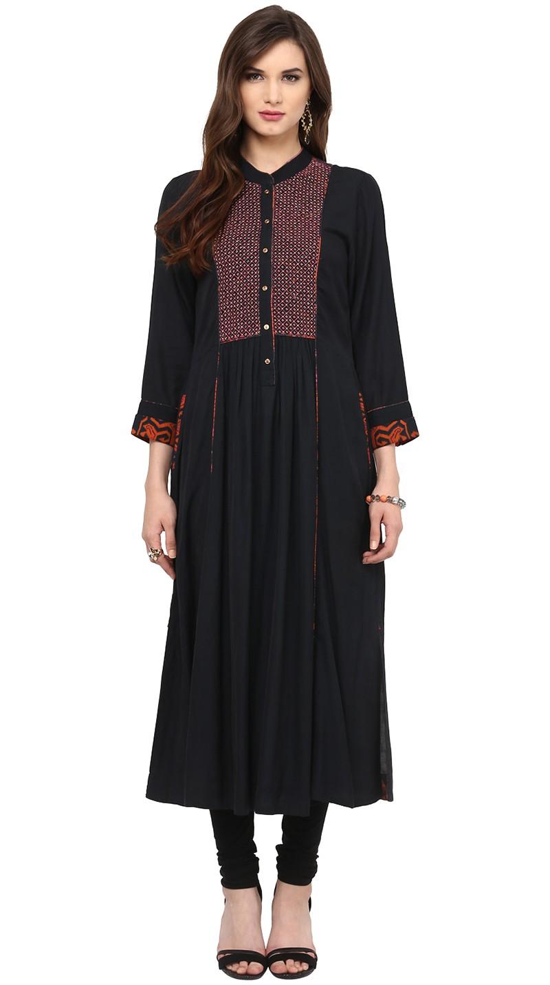 Ritu Kumar Latest Indian Kurtis & Tunics Designs (17)