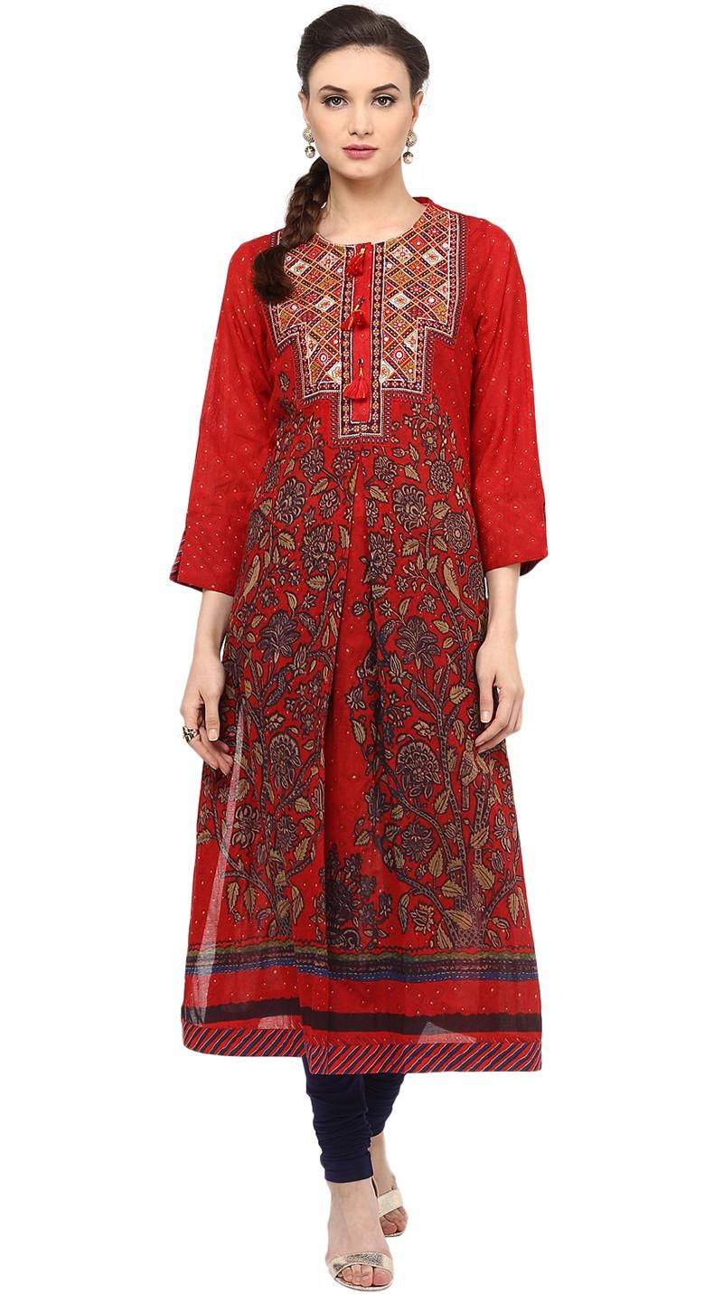 Ritu Kumar Latest Indian Kurtis & Tunics Designs (18)
