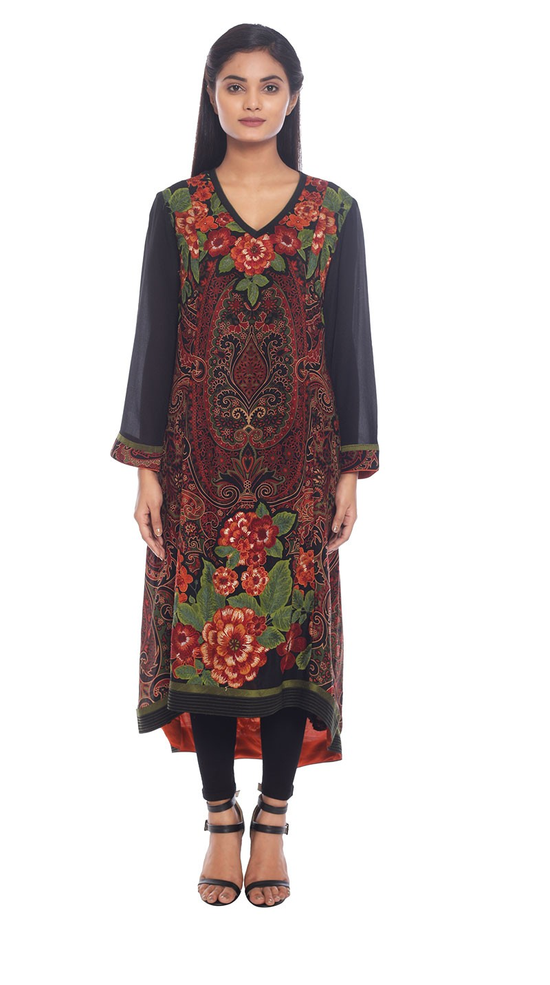 Ritu Kumar Latest Indian Kurtis & Tunics Designs (7)